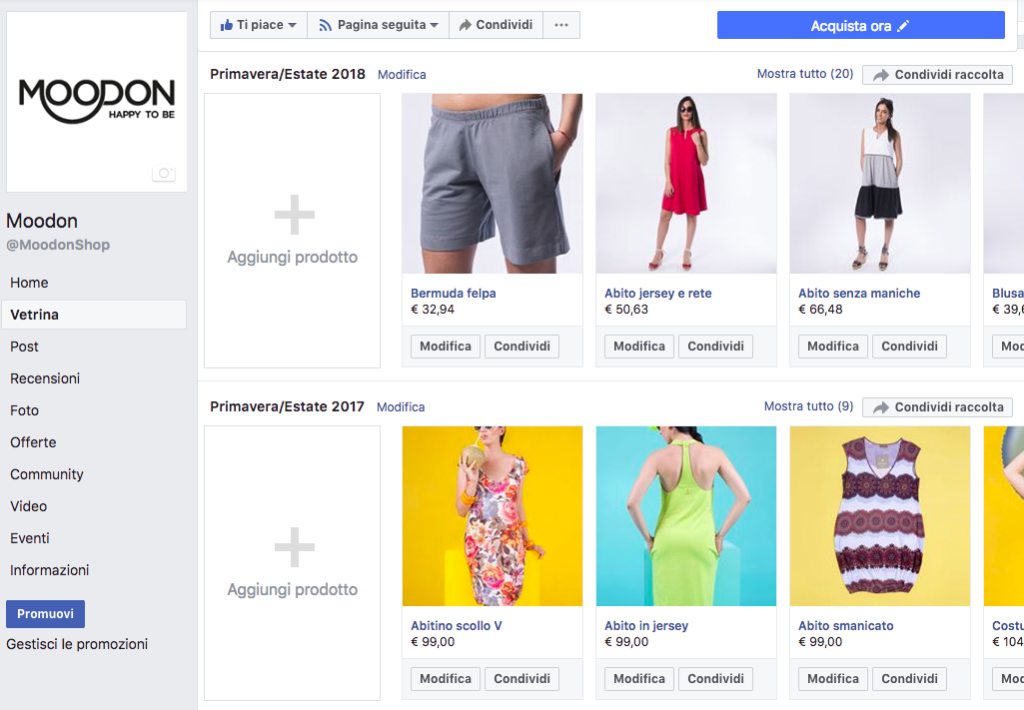 Come attivare shoppable post Instagram